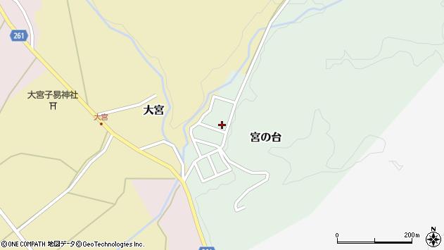 山形県西置賜郡小国町宮の台42周辺の地図