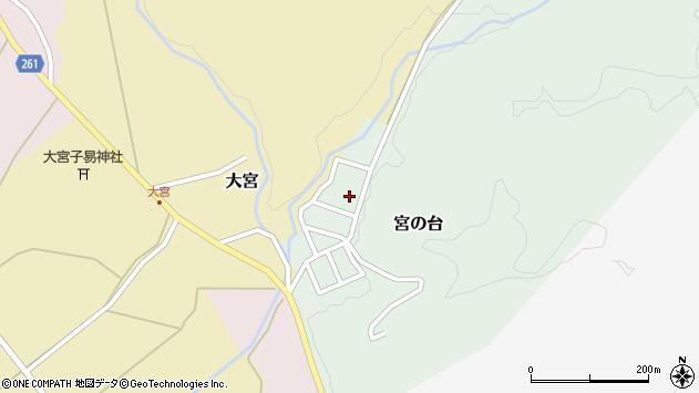 山形県西置賜郡小国町宮の台45周辺の地図