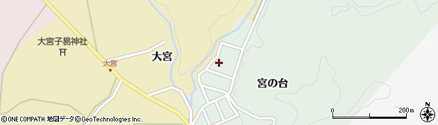 山形県西置賜郡小国町宮の台43周辺の地図