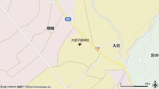 山形県西置賜郡小国町大宮236周辺の地図