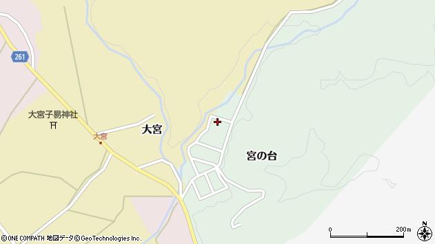 山形県西置賜郡小国町宮の台50周辺の地図