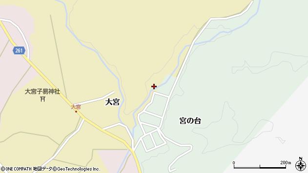 山形県西置賜郡小国町大宮346周辺の地図