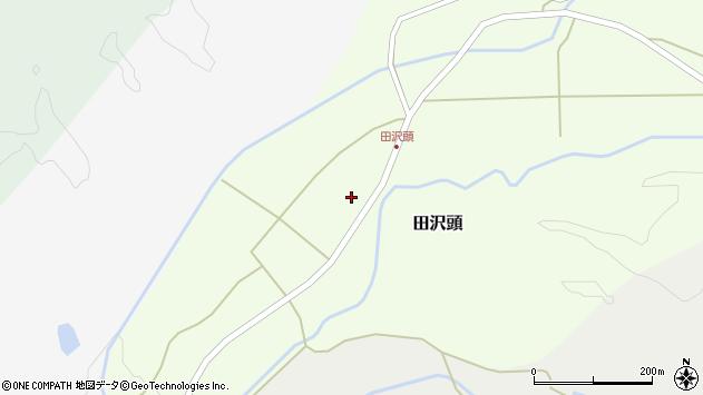 山形県西置賜郡小国町田沢頭185周辺の地図