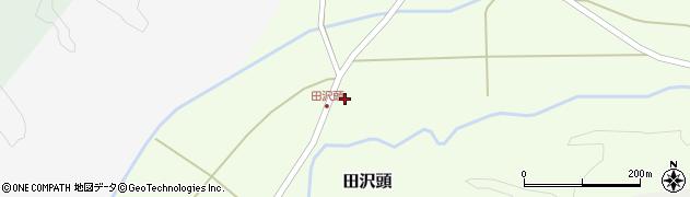 山形県西置賜郡小国町田沢頭121周辺の地図