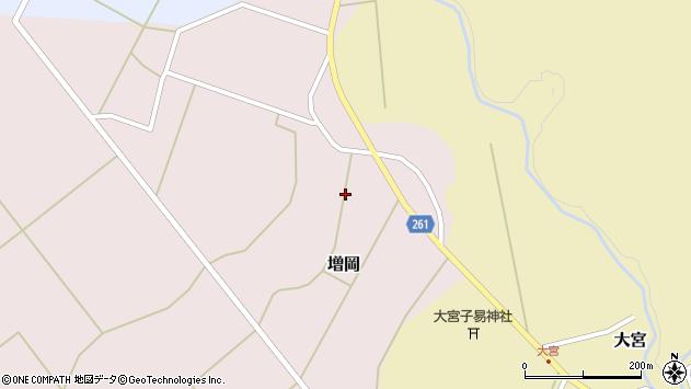山形県西置賜郡小国町増岡561周辺の地図