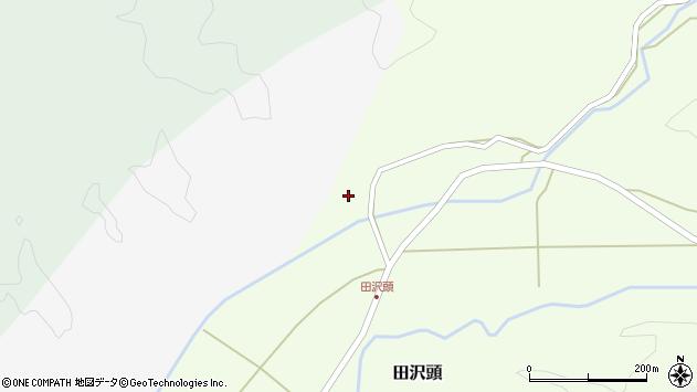 山形県西置賜郡小国町田沢頭381周辺の地図