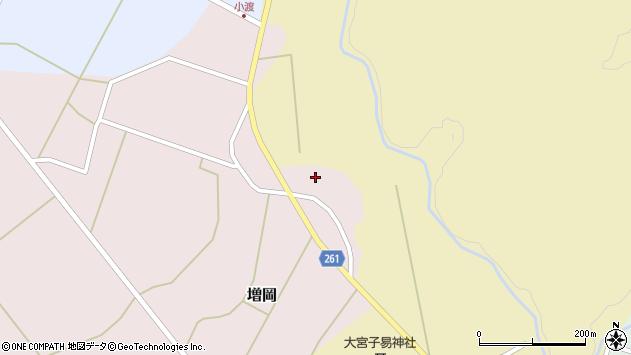 山形県西置賜郡小国町増岡593周辺の地図