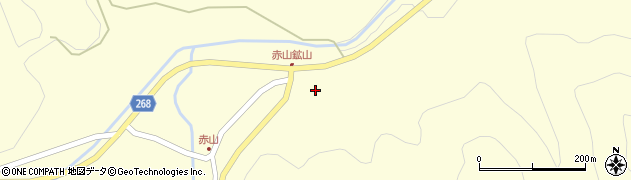 山形県上山市楢下赤山1346周辺の地図