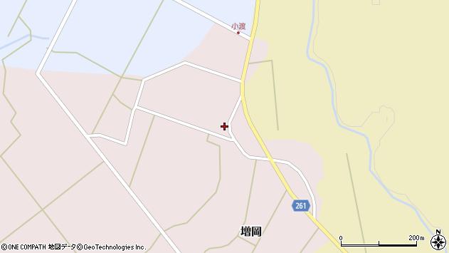 山形県西置賜郡小国町増岡583周辺の地図