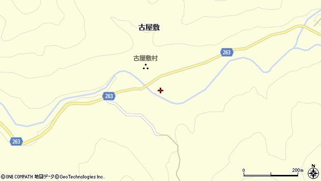 山形県上山市大門古屋敷938周辺の地図