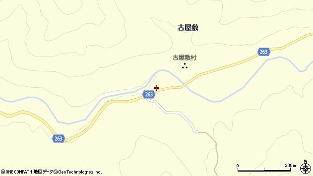 山形県上山市大門末沢967周辺の地図