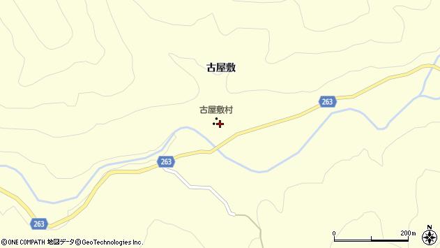 山形県上山市大門古屋敷934周辺の地図