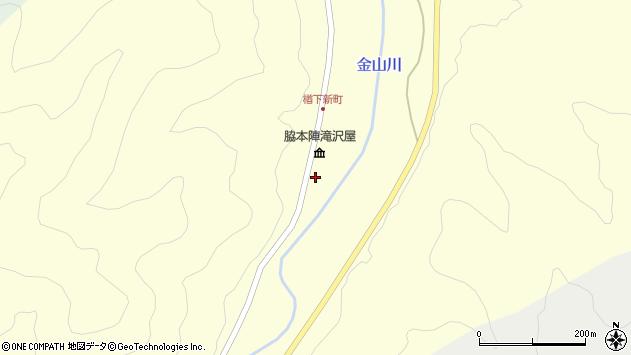 山形県上山市楢下1314周辺の地図