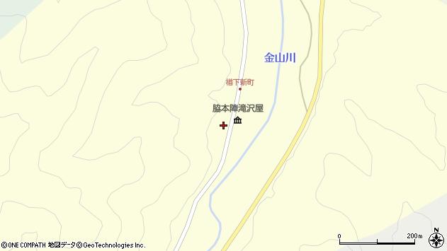 山形県上山市楢下1759周辺の地図
