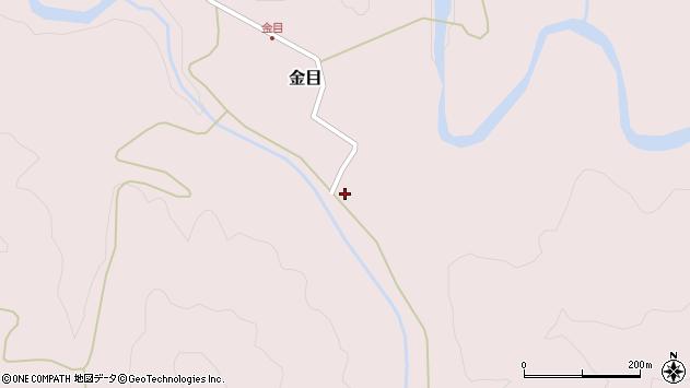 山形県西置賜郡小国町金目79周辺の地図