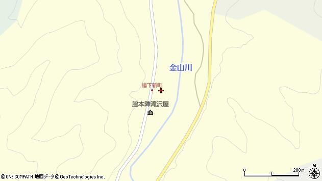 山形県上山市楢下1308周辺の地図
