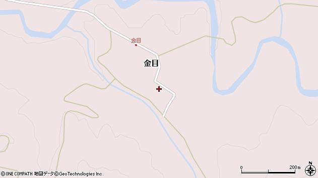 山形県西置賜郡小国町金目110周辺の地図