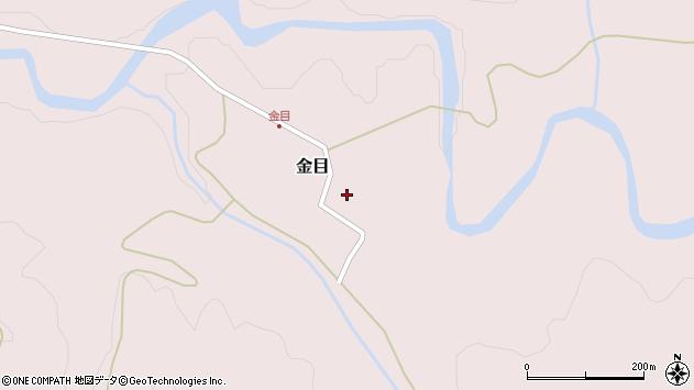 山形県西置賜郡小国町金目266周辺の地図