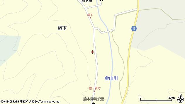 山形県上山市楢下1775周辺の地図