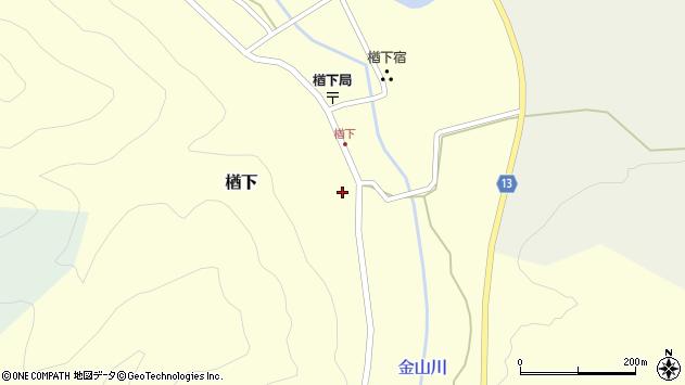 山形県上山市楢下1214周辺の地図
