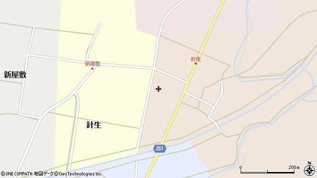 山形県西置賜郡小国町若山120周辺の地図