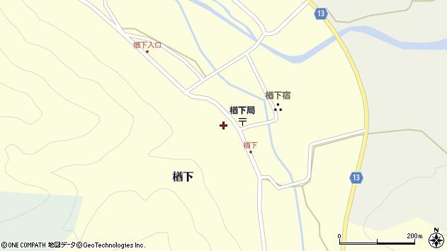 山形県上山市楢下1226周辺の地図
