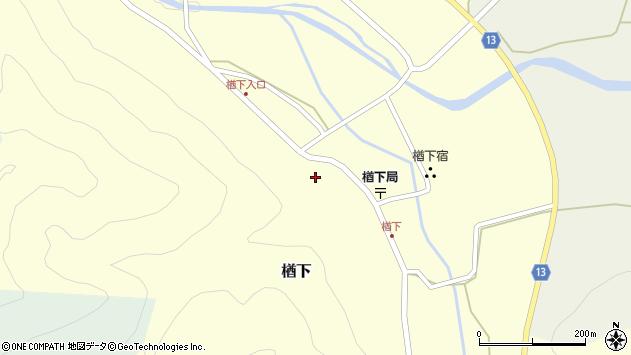 山形県上山市楢下62周辺の地図