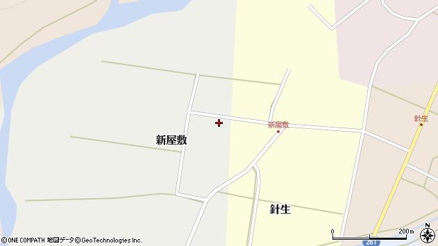 山形県西置賜郡小国町新屋敷68周辺の地図