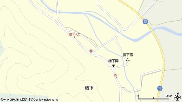 山形県上山市楢下66周辺の地図