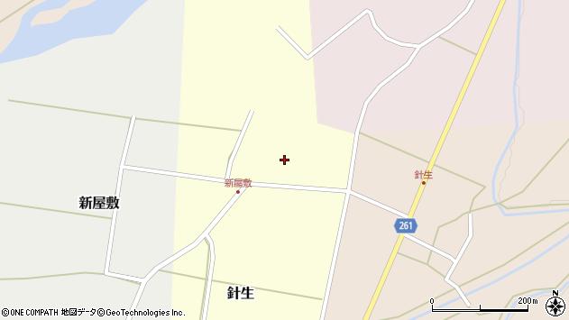 山形県西置賜郡小国町針生73周辺の地図