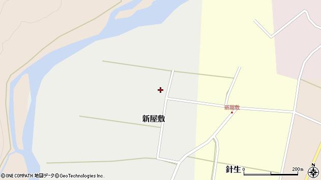 山形県西置賜郡小国町新屋敷173周辺の地図