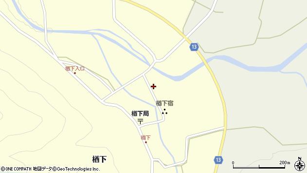 山形県上山市楢下27周辺の地図