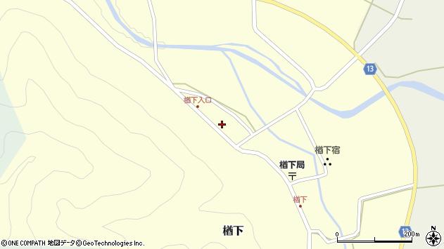 山形県上山市楢下75周辺の地図