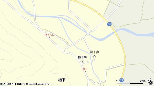 山形県上山市楢下48周辺の地図