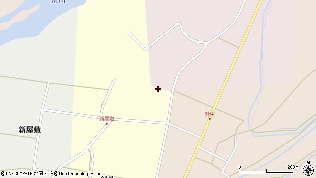 山形県西置賜郡小国町若山689周辺の地図