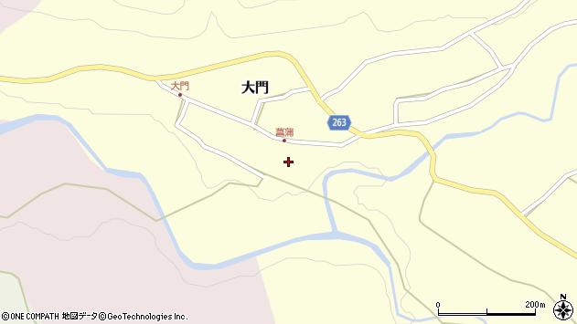 山形県上山市大門70周辺の地図