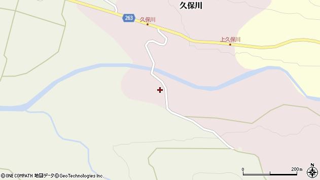 山形県上山市久保川228周辺の地図