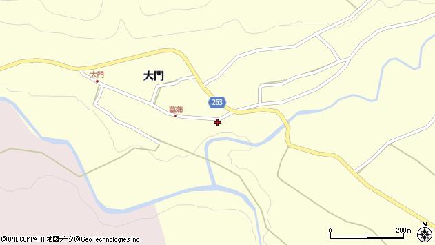 山形県上山市菖蒲30周辺の地図