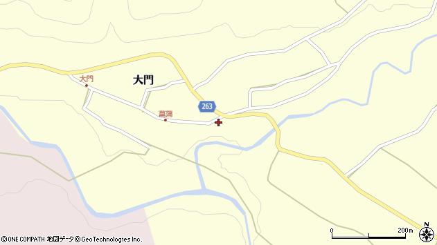 山形県上山市菖蒲32周辺の地図