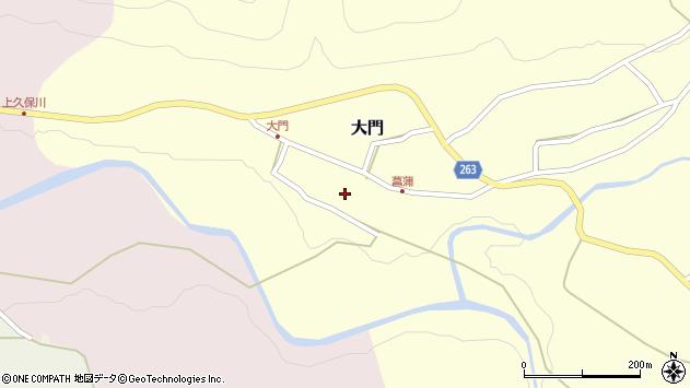 山形県上山市大門34周辺の地図