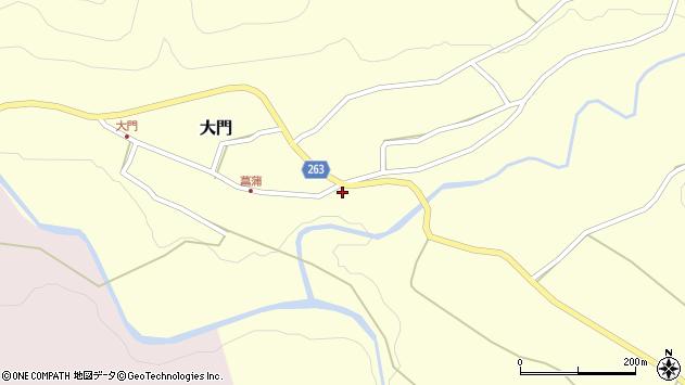 山形県上山市菖蒲33周辺の地図