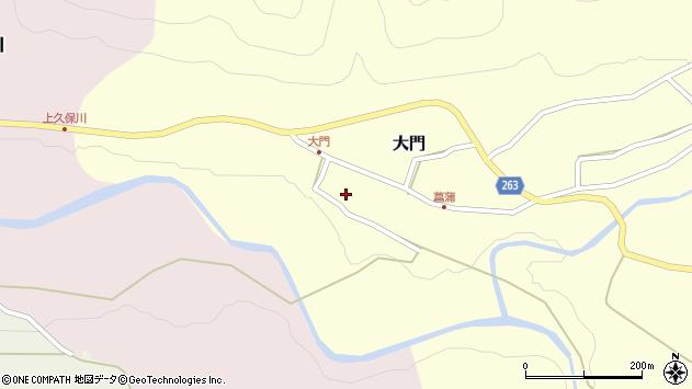山形県上山市大門41周辺の地図