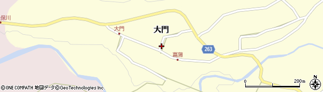 山形県上山市大門24周辺の地図