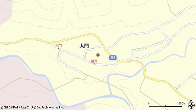 山形県上山市大門21周辺の地図