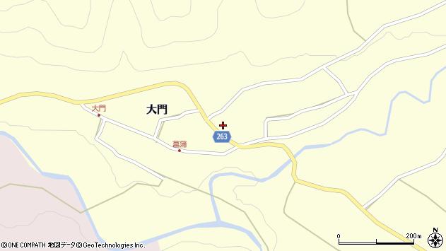山形県上山市菖蒲18周辺の地図