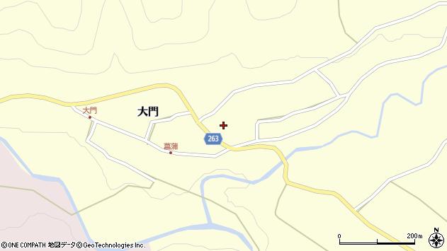 山形県上山市菖蒲24周辺の地図