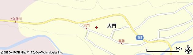 山形県上山市大門11周辺の地図