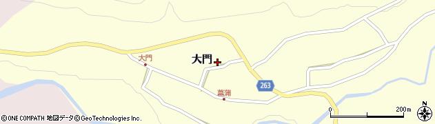 山形県上山市大門18周辺の地図