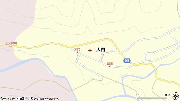 山形県上山市大門100周辺の地図