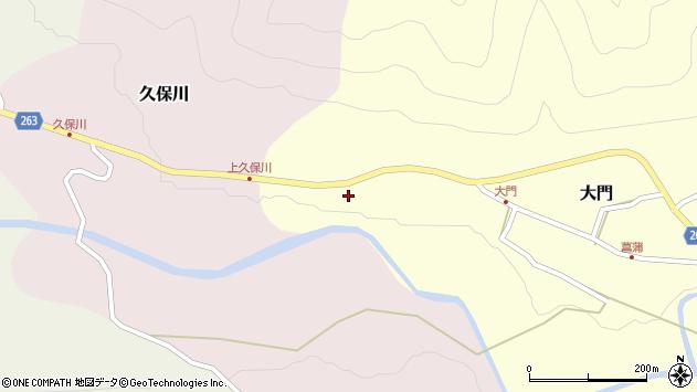 山形県上山市大門138周辺の地図